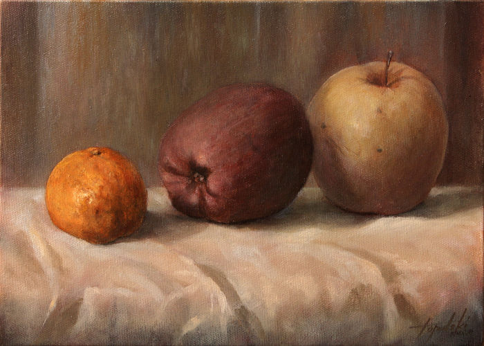 Darko Topalski - Tangerine and Apples