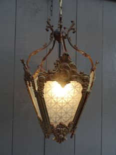 Hall lantern in the style of Louis XV, first half of the 20th century,