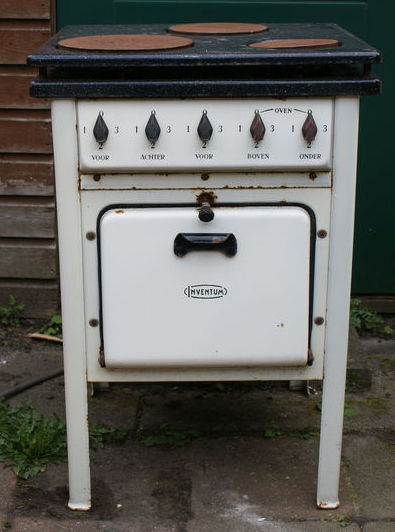 Vintage Electric Stove >> Vintage Electric Stove Inventum 1948 3 Burner With Oven Catawiki