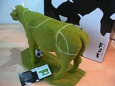 Cow parade - Football cow - Extremly rare
