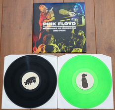 Pink Floyd- Memories Of Boredom And Pain 2lp/ Limited, hand-numbered edition of 65 copies on black & green wax/ NEAR MINT