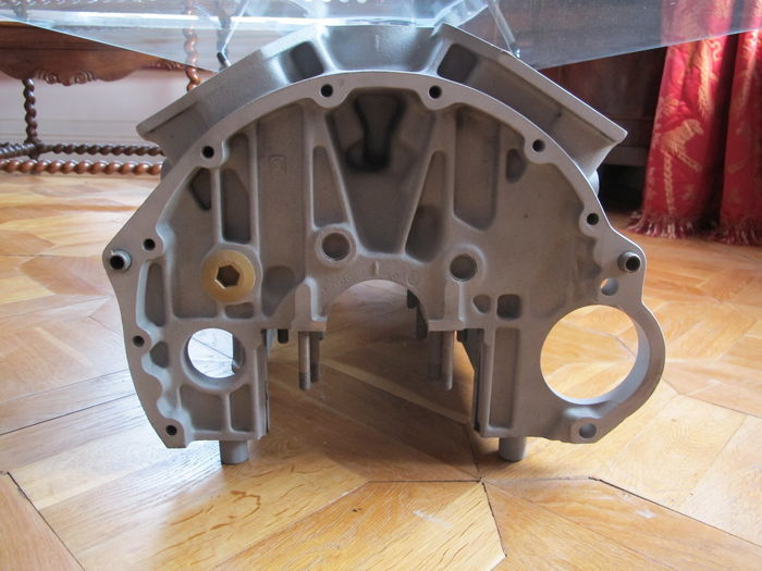 Jaguar Of Daimler Double Six Engine Block V12 Coffee Table