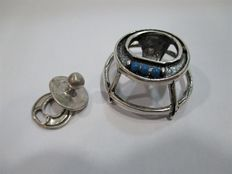 Baby Walker and pacifier-miniature