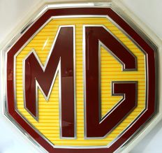 MG Morris Garage ad