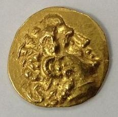 Greek Antiquity - Pontic Kingdom. Kallatis. Gold stater, Mithradates VI Eupator (120-63 BC), in the name of Lysimachos (323-281 BC), struck ca. 88-86 BC