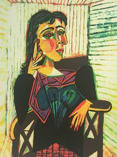 Pablo Picasso (after) - Portrait of Dora Maar