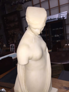 Marble Statue of Lady