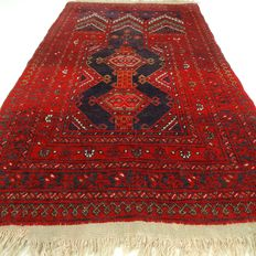 "Semi-antique Turkoman - 132 x 71 cm - ""Persian carpet in good condition"" - Note! no reserve price: starting at €1,-"