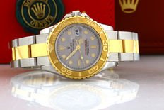 Rolex Yachtmaster - Women's watch - Gold/steel - Full set from Dec. 2011