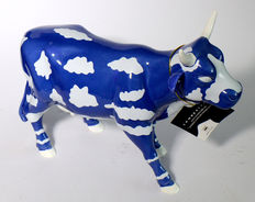 """SKY COW"" by the artist Othello Anderson Cowparade - large with original box and certificate"