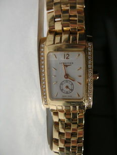 Longines Dolce Vita, 18 kt gold women's watch, 2012