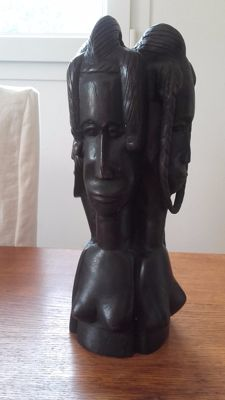 Statue with 4 faces - NIGER