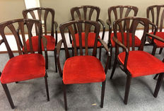 Spahn cafe chairs - 21 pieces - ca. 1970