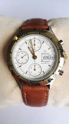 Mondia by Zenith – men's automatic chronograph NOS from the '90s