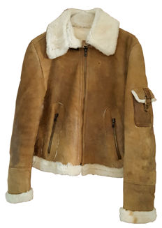 Handcrafted - made in Italy - shearling jacket