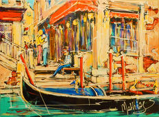 Mathias - Holiday in Venice,  lovers