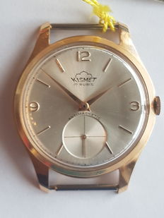 Kismet Swiss-Made men's wristwatch from the 1960s. N.O.S. (New old stock).