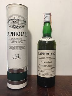 Laphroaig 10 years old - bottled 1980s for Cinzano