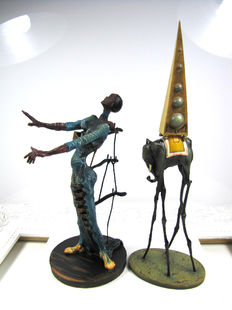 Salvador Dali - 2 sculptures - Mouseion Collection