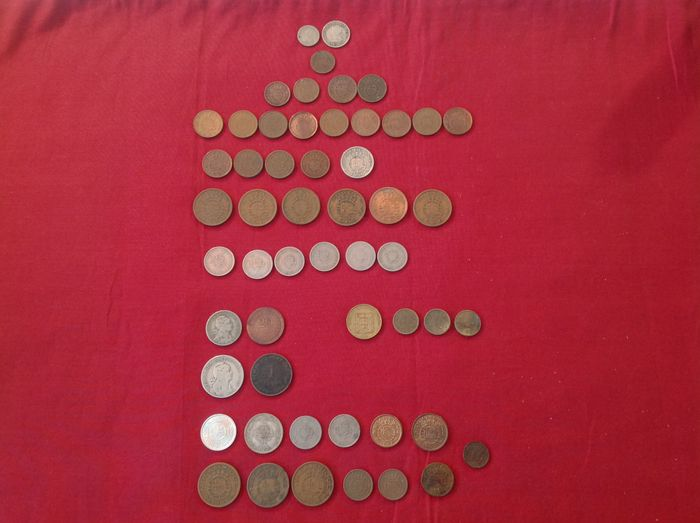 Former Portuguese Colonies – 54 coins – 1927 to 1982