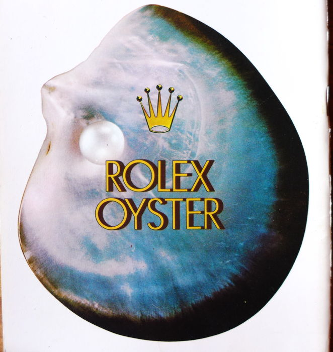 Rolex Oyster booklet 70s