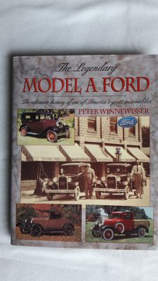 Model A Ford, Ford V-8, Henry Ford. Lot of three rare books.