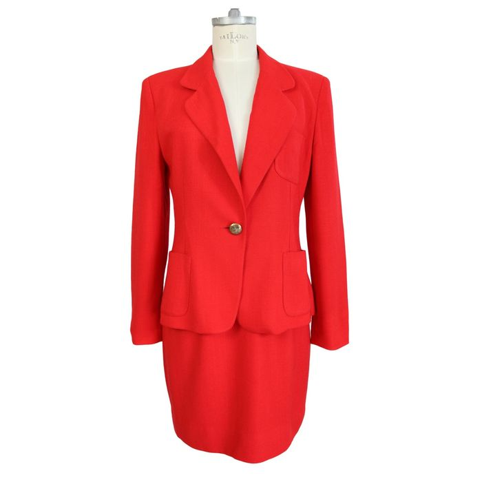 Moschino Cheap and Chic completo giacca gonna donna suit Catawiki