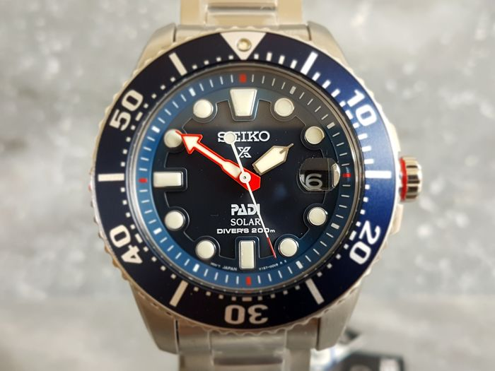 Seiko Prospex Solar Padi Special Edition    - Men's Divers Wristwatch - unworn - 2017.