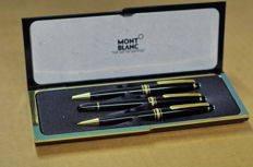 Montblanc Meisterstuck ballpoint pen, propelling pencil and roller ball pen