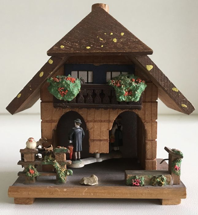 Black forest germany traditional miniature cuckoo for 93 house music
