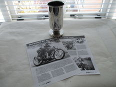 Prize trophy - KNMV champion of the Netherlands 1956 125cc class