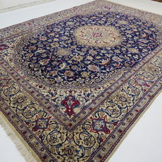 Wonderfully beautiful Persian carpet, Nain/Iran, 345 x 245 cm, end of the 20th  century Excellent condition- with silk – Persian carpet – oriental carpet