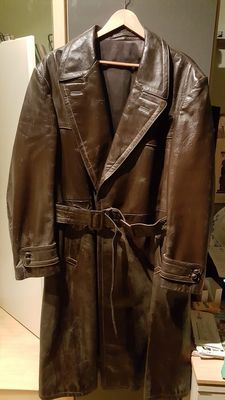 Brown Leather Jacket 1943 ASTOR Mod. Gloria