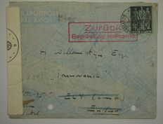 Switzerland – Batch of letters, stamps and various