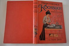 Lot with books on cookery - around 1900/1923
