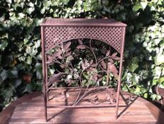 Handmade wrought iron side table, 2nd half 20th century