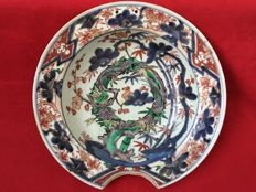 Porcelain barber bowl - Japan - first half 18th century