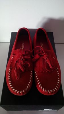 Dsquared² – moccasins with fringe and tassels
