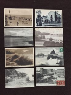 lot of about 620 postcards of France, Pyrenees and various France - early 20th century to the 1960s various France