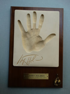 Larry Holmes (1949-) - Hand made cast
