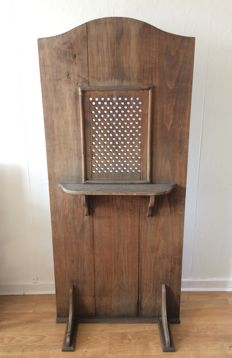 Confessional country furniture, French late 19th early 20th century - Liturgy - Church - religious