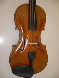 Beautiful French violin from the workshop of VUILLAUME in Paris