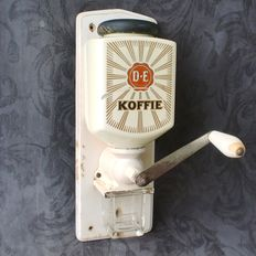 Original Douwe Egberts wall coffee grinder