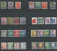 The Netherlands 1925/1933 - Syncopated children series - NVPH R71/R101