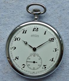 ARSA Switzerland 17 jewels - men's pocket watch from the 60s - 70s