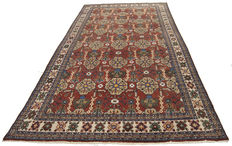 324 x 168 cm – Authentic antique rug – Original with certificate of authenticity by official expert – GalleriaFarah1970
