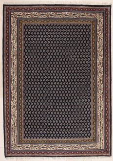 Hand-knotted Indian carpet - Mir, 174 x 242 cm - India - Around 1980