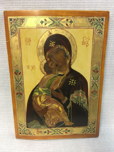 Large Greek Icon - early 20th century