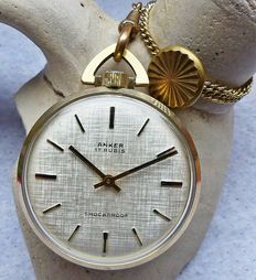 ANKER 17 rubis -- men's pocket watch from the 1960s / 70s