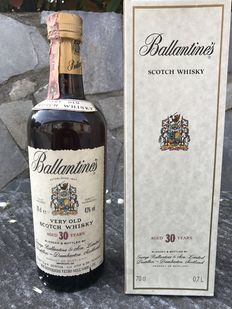 Ballantine's 30 Year Old Blended Scotch Whisky - 1990s (70cl, 43%)